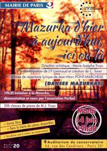 Affiche Mazurka