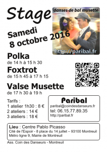 Stage octobre 2016
