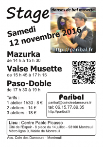 Stage novembre 2016