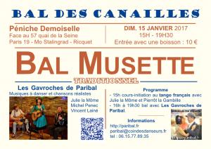 Bal des Canailles janvier 2017