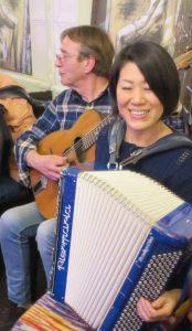 Rié Matsumoto et Vincent Lainé