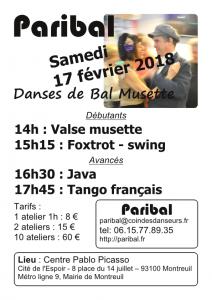 Stage Montreuil février 2018
