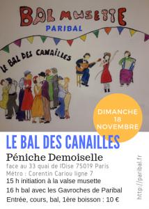 bal des Canailles de novembre