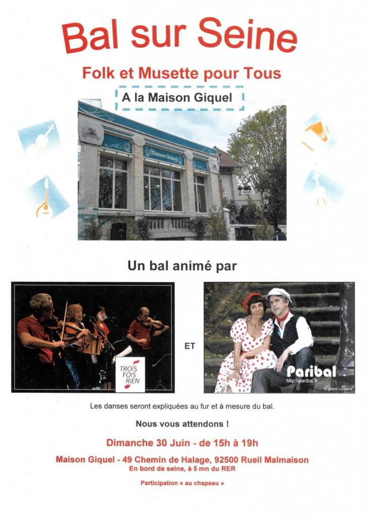 Bal folk et musette à Rueil